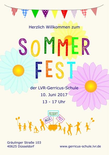 sommerfest 2017 -, Einladung